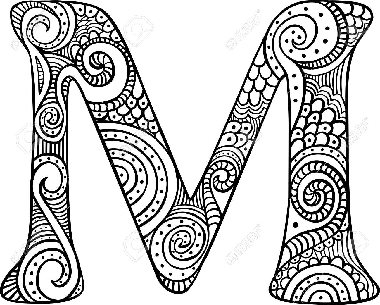 letter m coloring page rounded letter m coloring page download print online letter page m coloring