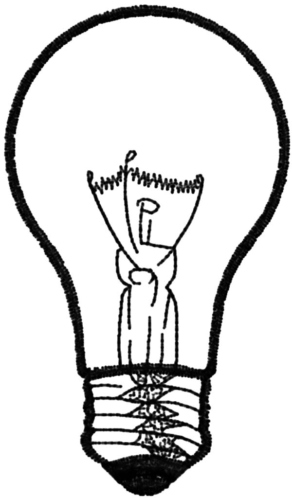 light bulb printable drawing light bulb coloring pages download print light bulb printable
