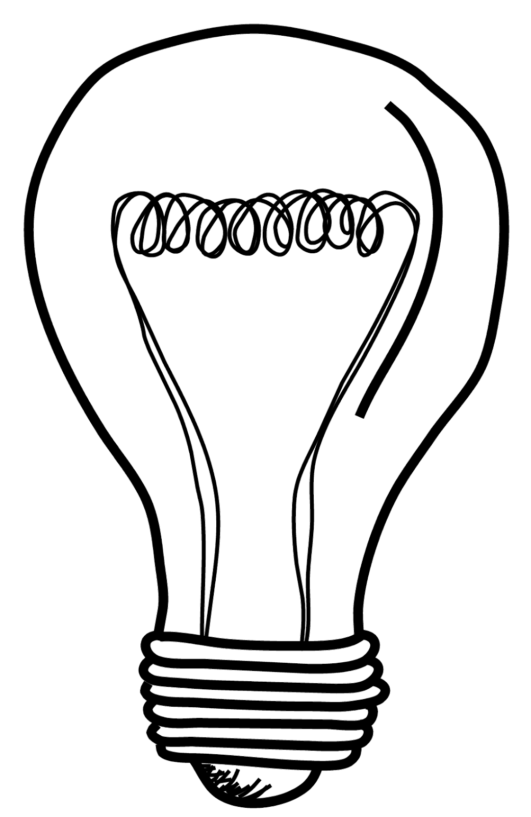 light bulb printable important invention light bulb coloring pages download light bulb printable