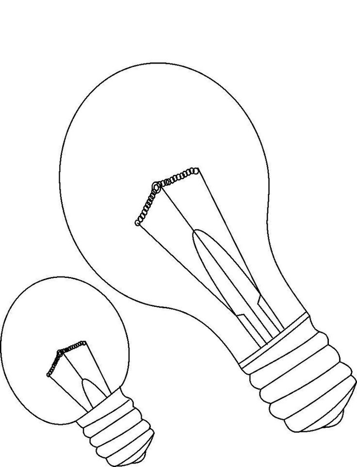 light bulb printable light bulb coloring page for free educative printable in bulb printable light
