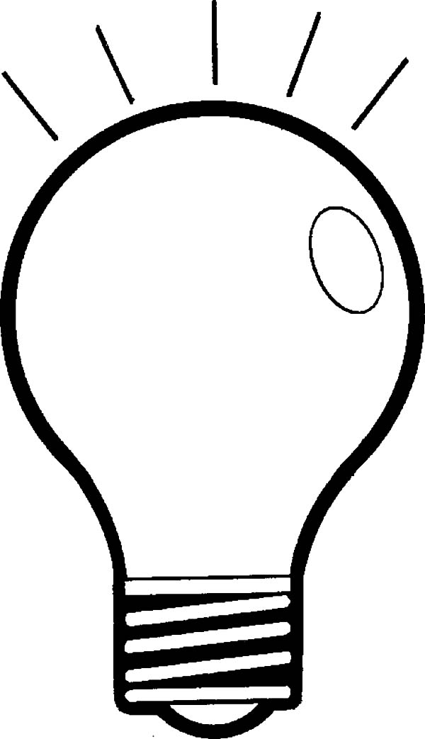 light bulb printable light bulb coloring pages light bulb coloring pages bulb printable light