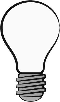 light bulb printable light bulb outline free download on clipartmag bulb light printable