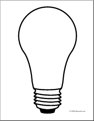 light bulb printable light bulb template free download on clipartmag bulb printable light