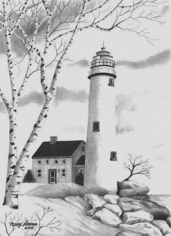lighthouse drawing barnegat lighthouse drawing by greg dinapoli drawing lighthouse