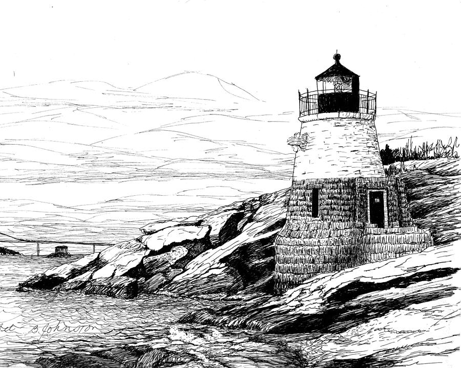lighthouse drawing bodie island lighthouse drawing by stephany elsworth drawing lighthouse