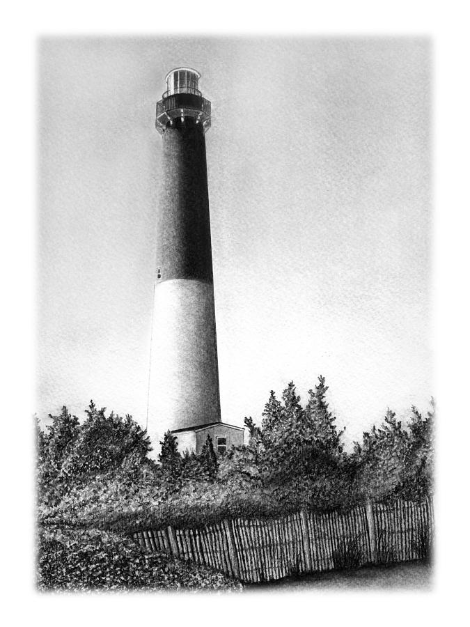 lighthouse drawing cape blanco lighthouse drawing by lawrence tripoli lighthouse drawing