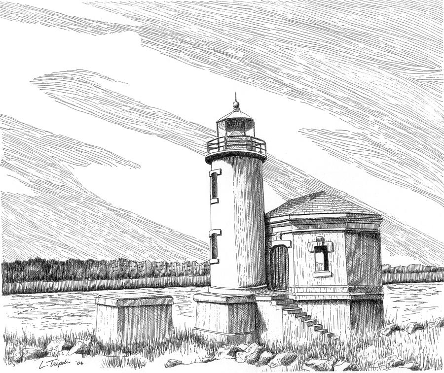 lighthouse drawing castle hill lighthouse drawing by beth johnston drawing lighthouse