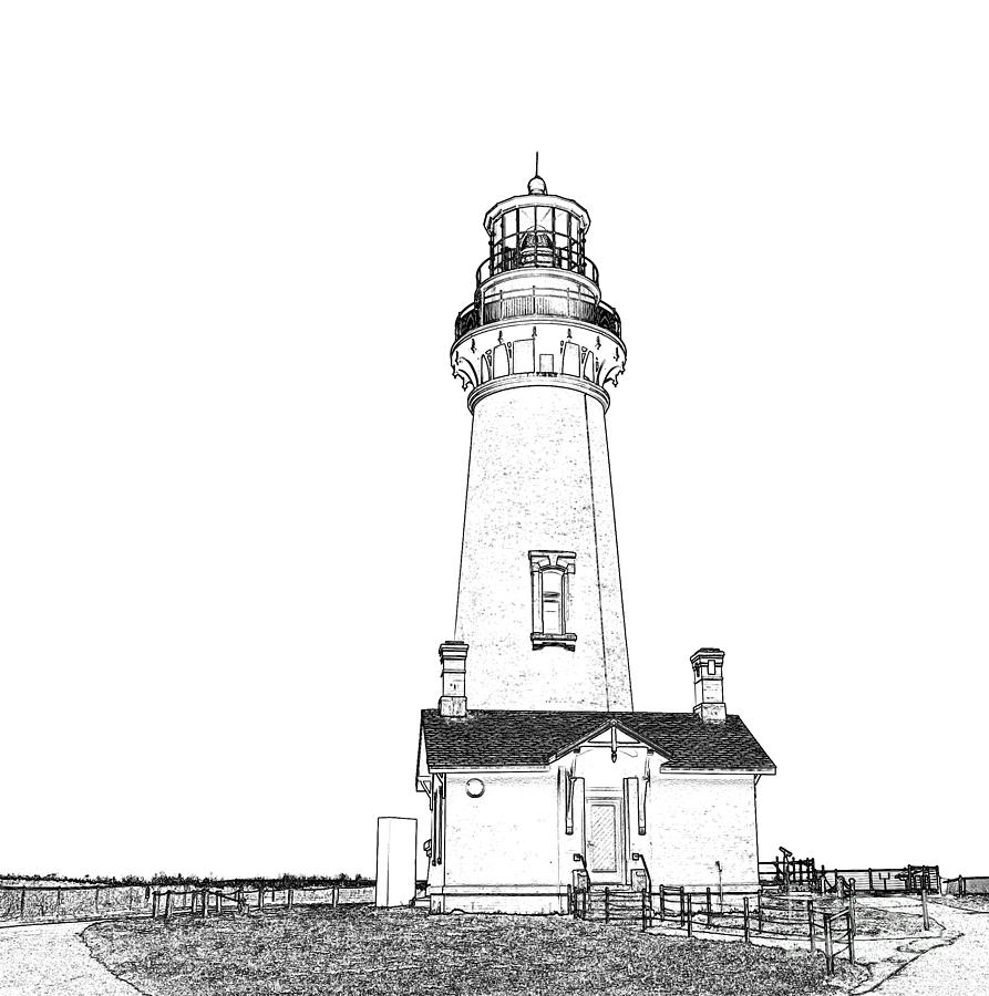 lighthouse drawing lighthouses on behance lighthouse drawing landscape drawing lighthouse