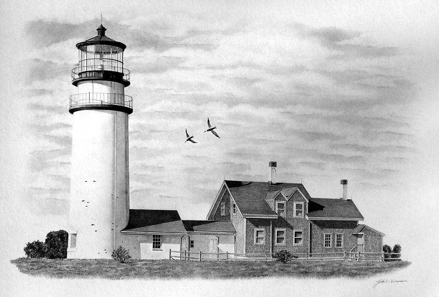 lighthouse drawing owl39s head lighthouse drawing by bob manthey lighthouse drawing