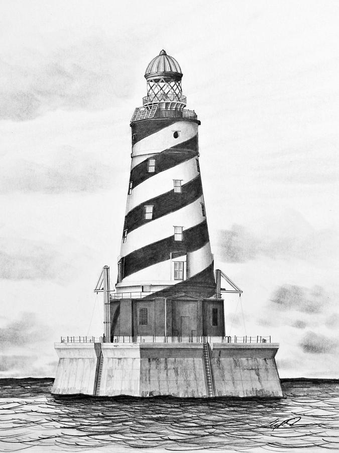 lighthouse drawing sandy hook lighthouse drawing by greg dinapoli drawing lighthouse