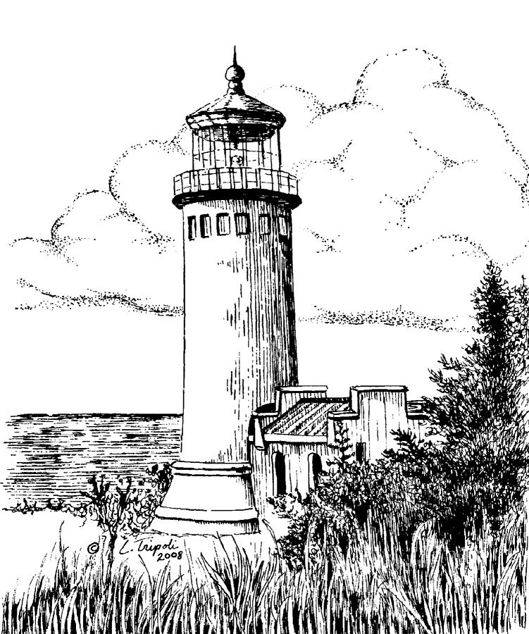 lighthouse drawing white shoal lighthouse drawing by anthony strublic drawing lighthouse