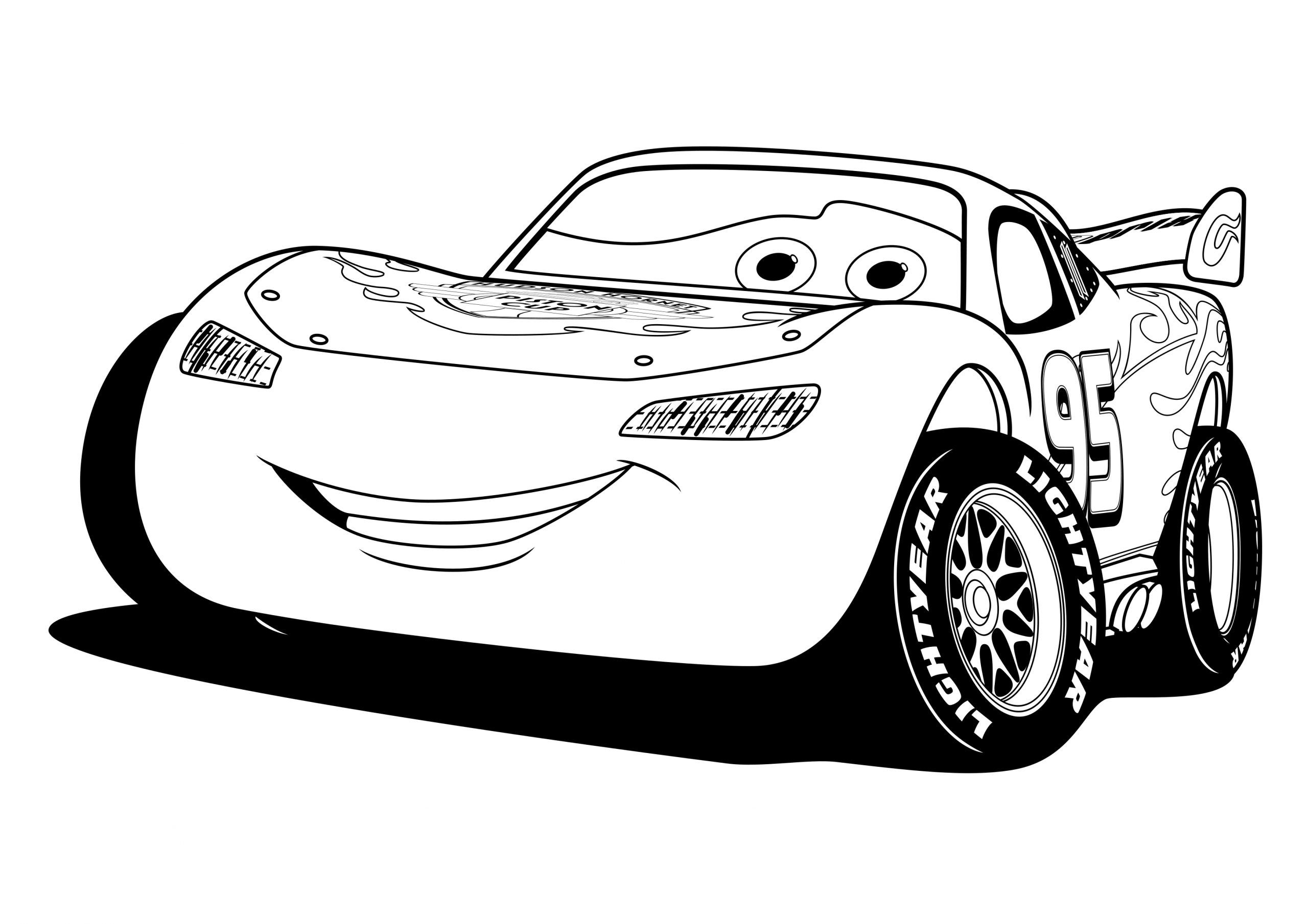 lighting mcqueen coloring get this free lightning mcqueen coloring pages 623681 coloring lighting mcqueen