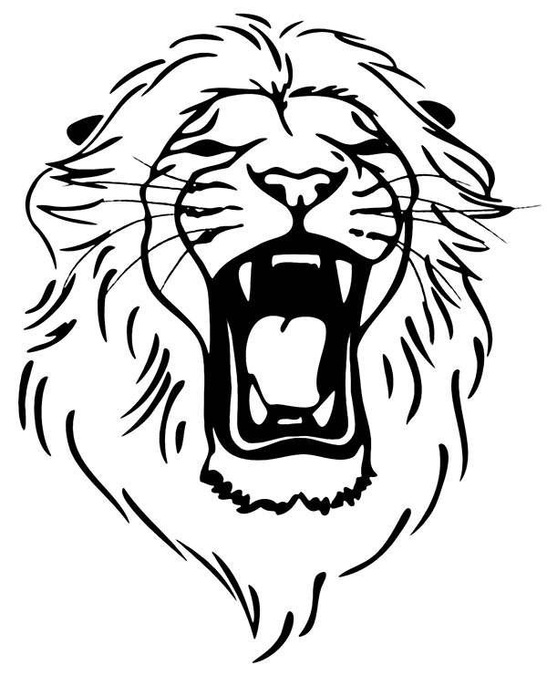 lion face coloring page free coloring pages of lion face template free coloring coloring face lion page