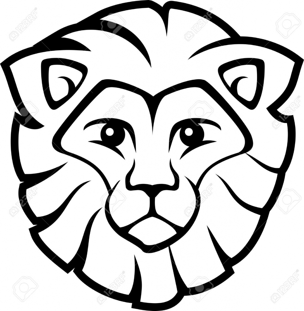 lion face coloring page lion head lions adult coloring pages coloring lion page face