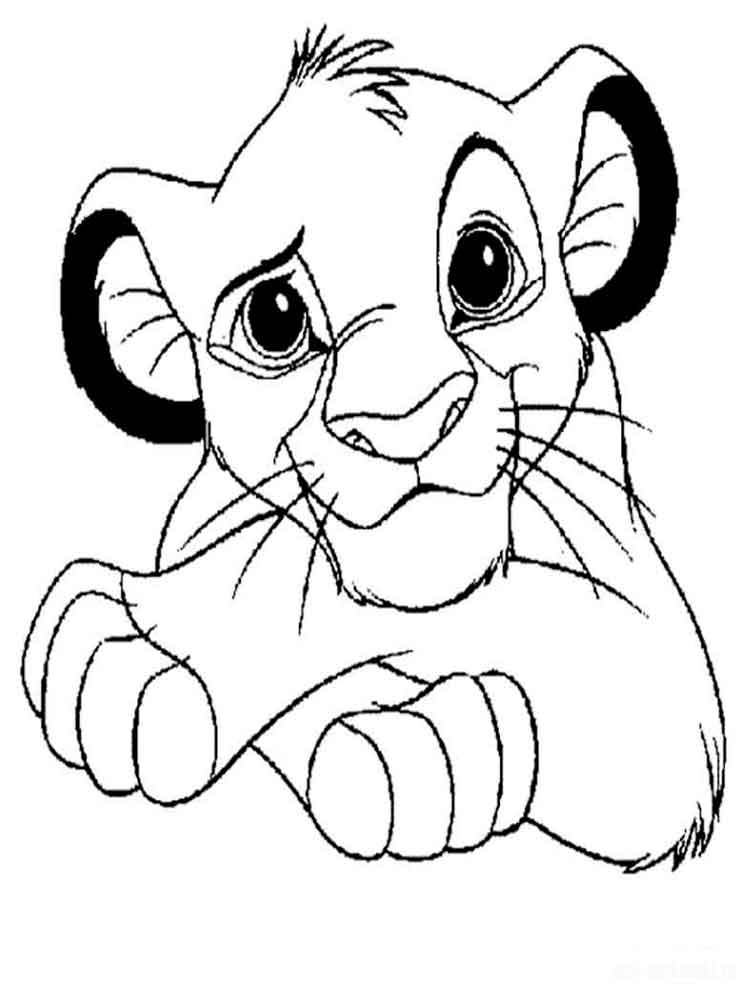 lion king coloring page the lion king coloring pages download and print the lion lion page king coloring