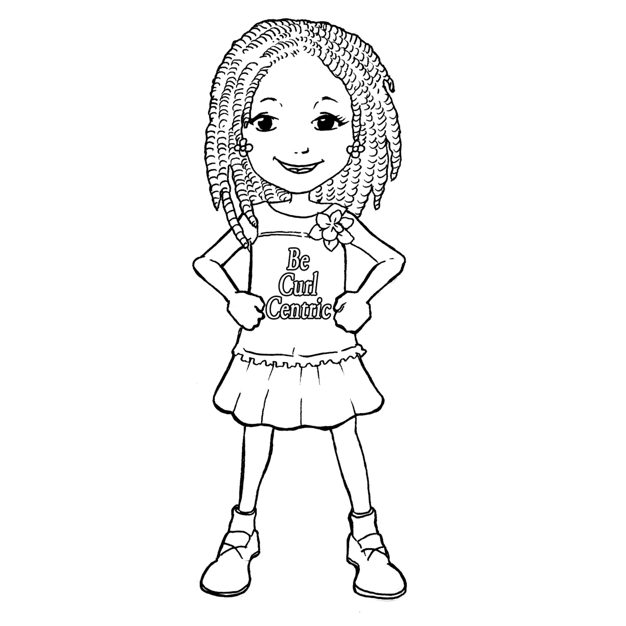little girl coloring pictures cute girl coloring pages to download and print for free coloring little girl pictures
