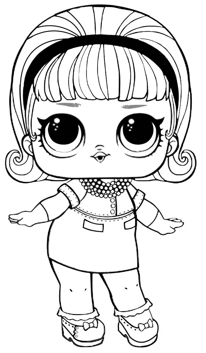 lol coloring template 40 free printable lol surprise dolls coloring pages lol template coloring