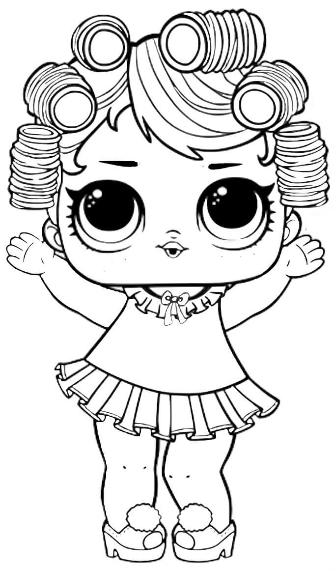 lol coloring template lol doll line dancer coloring page free printable lol coloring template