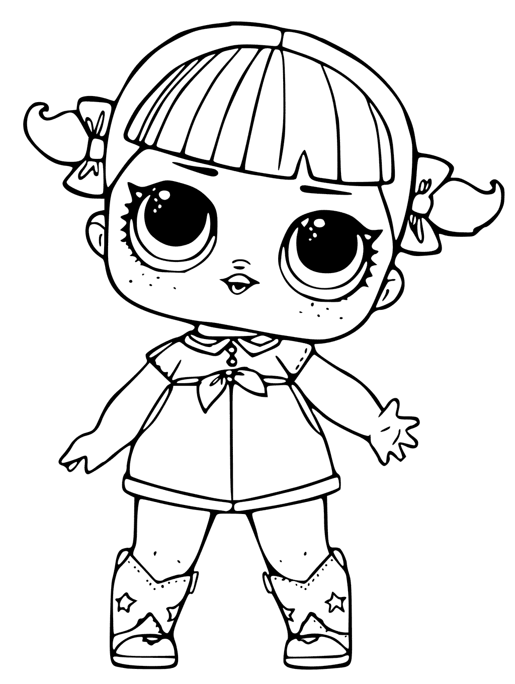 lol coloring template lol surprise dolls coloring pages sketch coloring page lol template coloring