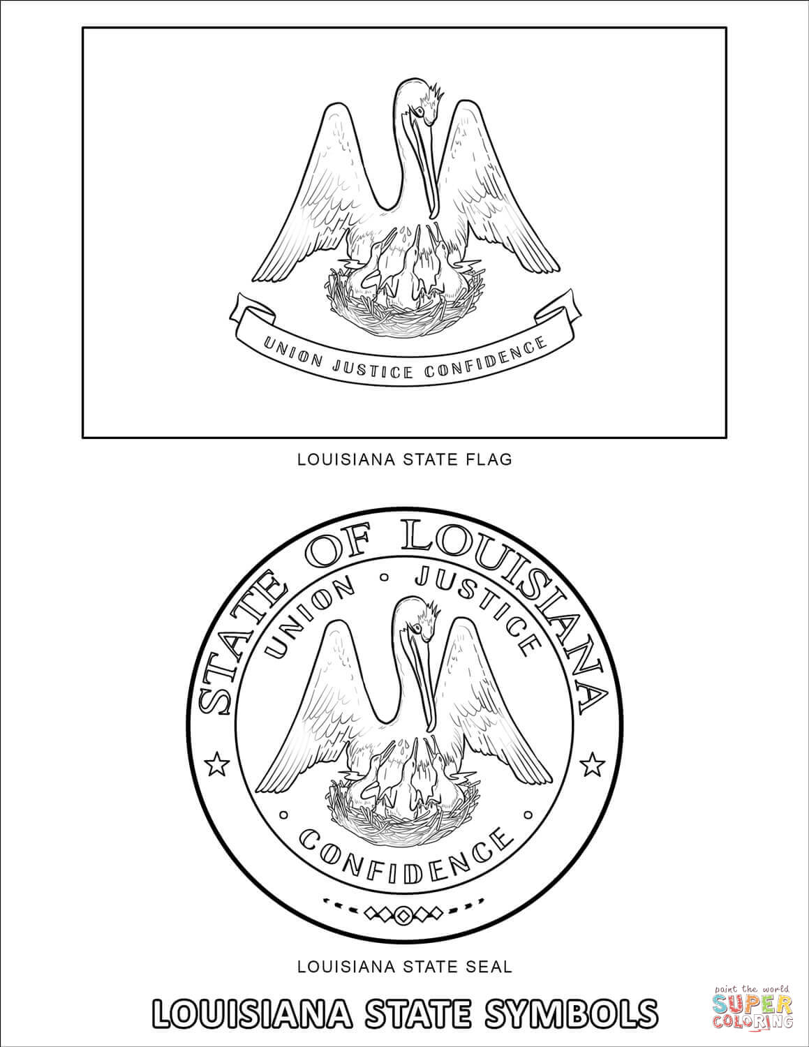 louisiana state symbols coloring pages louisiana state symbols coloring pages coloring home louisiana coloring pages state symbols