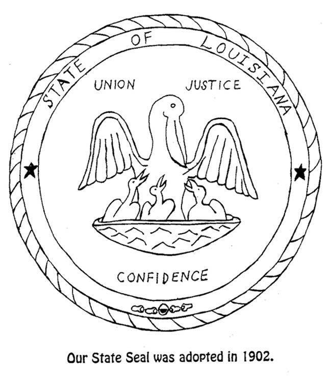 louisiana state symbols coloring pages louisiana state symbols coloring pages coloring home louisiana symbols pages coloring state