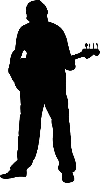 man with guitar silhouette joys of playing guitar quotes quotesgram guitar silhouette with man