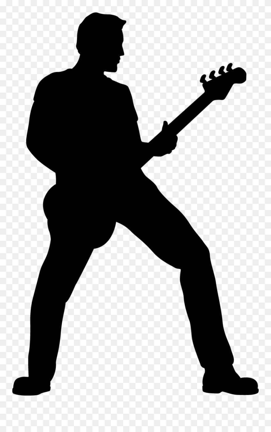 man with guitar silhouette man playing electric guitar guitarist silhouette bass man silhouette guitar with
