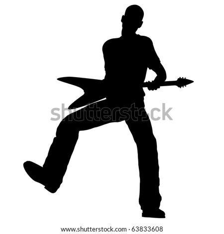 man with guitar silhouette man with guitar silhouette with man silhouette guitar