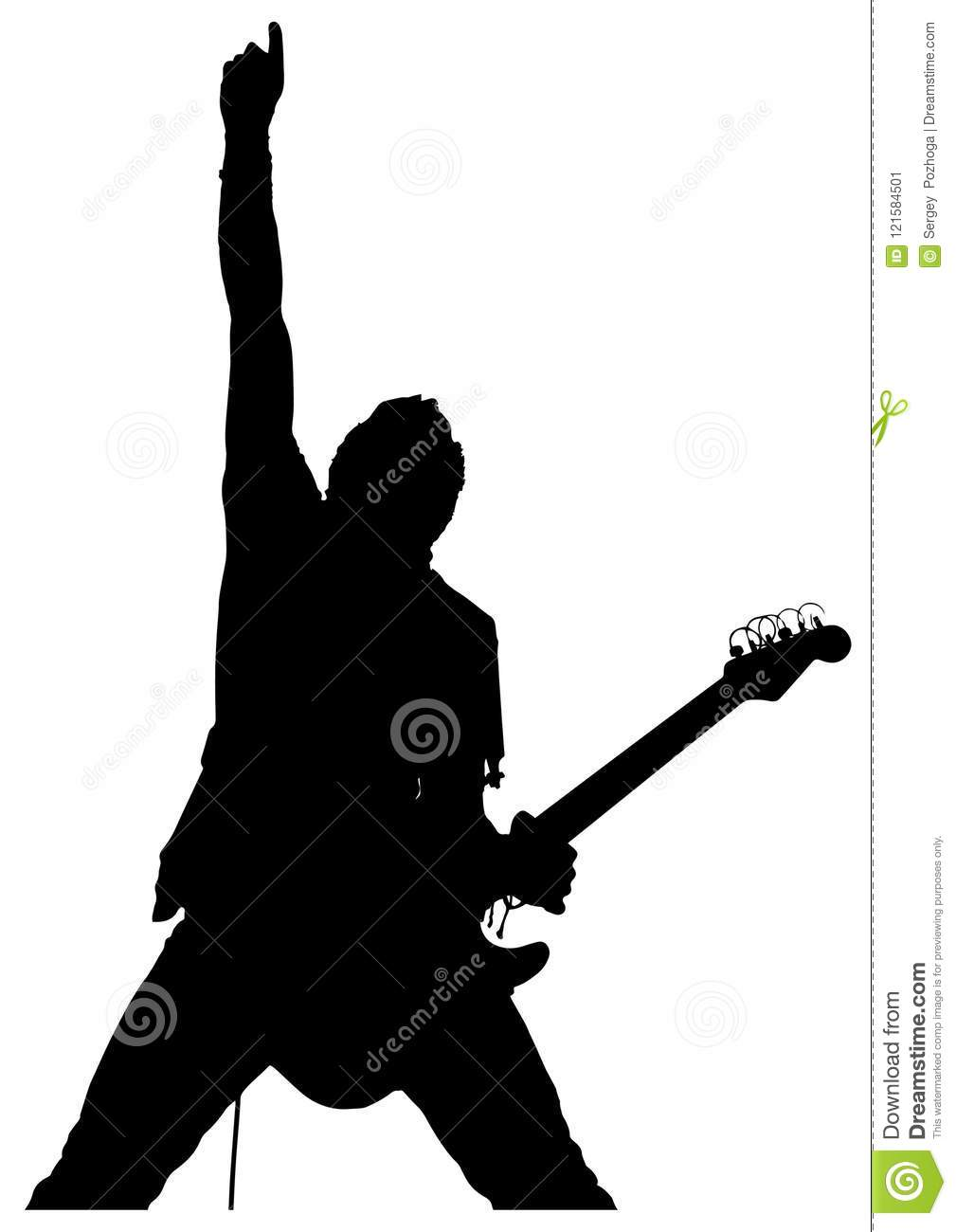 man with guitar silhouette royalty free man playing guitar clip art vector images with man silhouette guitar