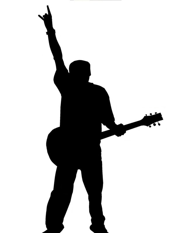man with guitar silhouette silhouette of guitarist playing viewer electric bass with man silhouette guitar