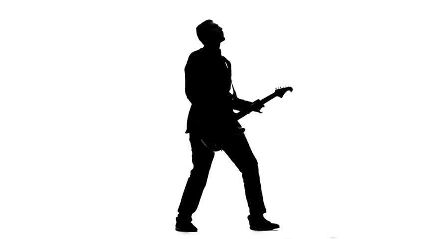 man with guitar silhouette silhouette of sitting man playing the guitar on white silhouette man with guitar