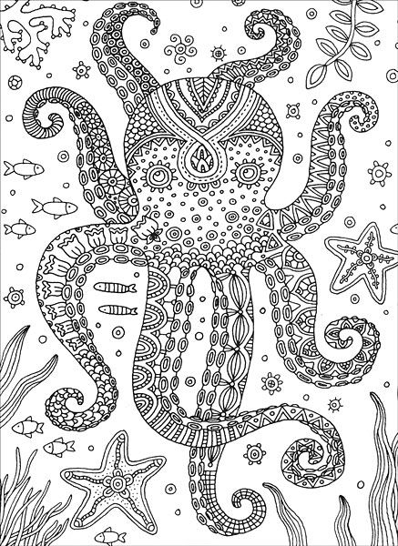 mandala octopus coloring page octopus coloring pages printable for kids kids colouring coloring page mandala octopus
