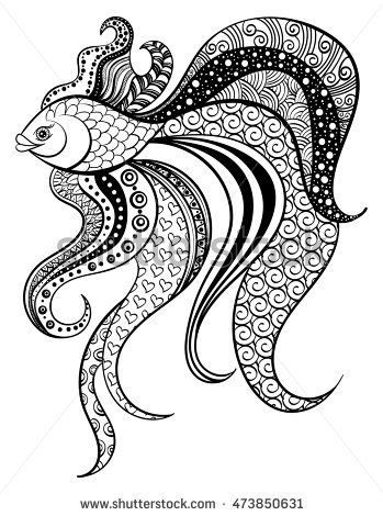 mandala octopus coloring page zentangle octopus 2 by fourtriangles on deviantart octopus page mandala coloring
