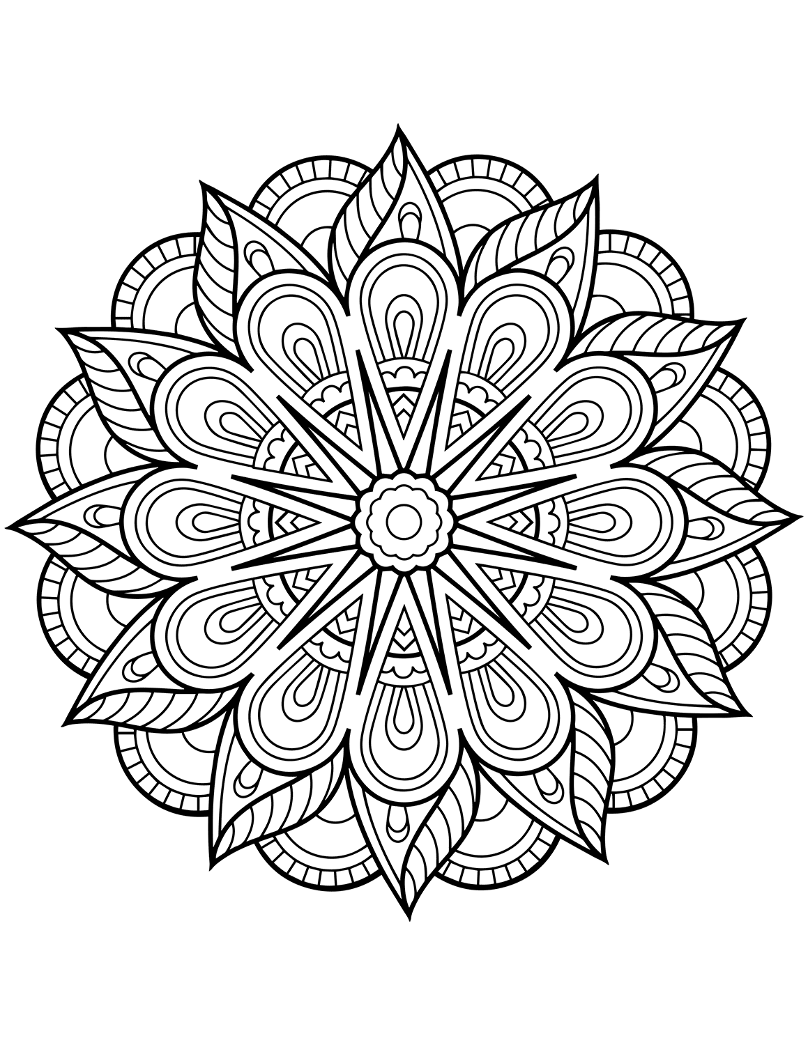 mandala pictures to color adult coloring pages mandalas coloring home color mandala to pictures