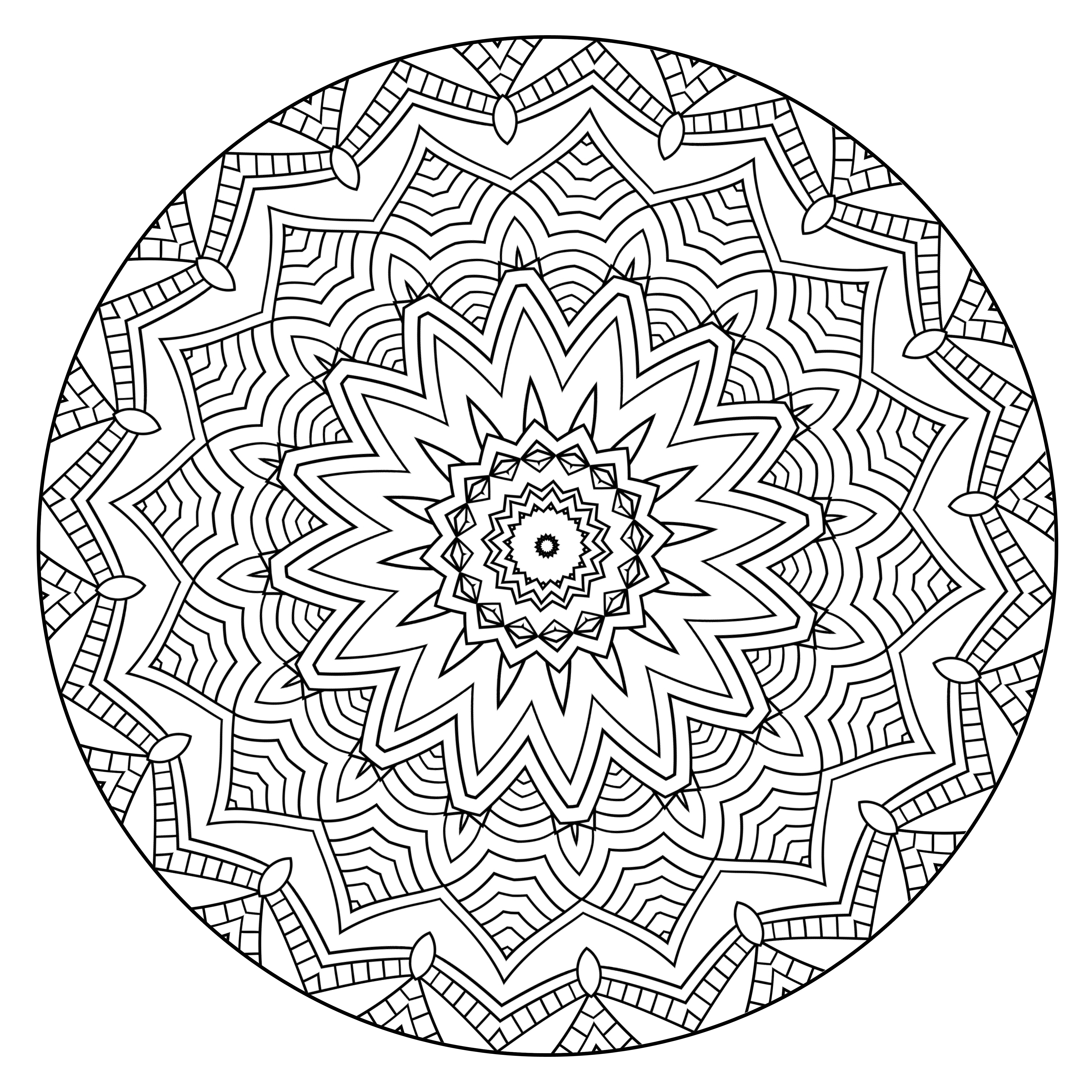 mandala pictures to color don39t eat the paste the first mandala of 2016 pictures mandala to color