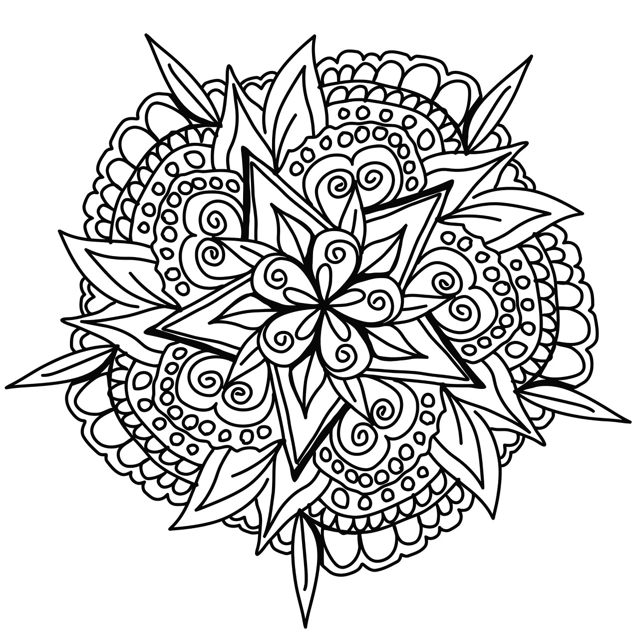 mandala pictures to color mandala coloring pages for kids to download and print for free color pictures mandala to