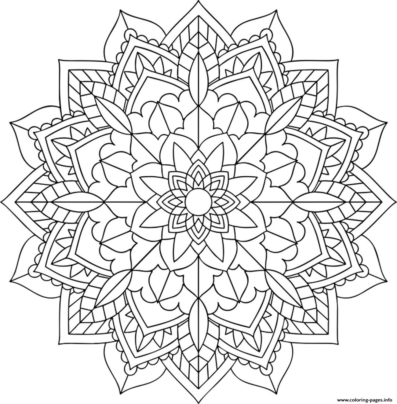 mandala pictures to color the big flower mandalas adult coloring pages to mandala color pictures