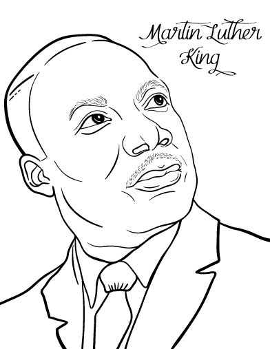 martin luther king jr coloring pages free free printable martin luther king jr day mlk day martin free pages coloring jr king luther