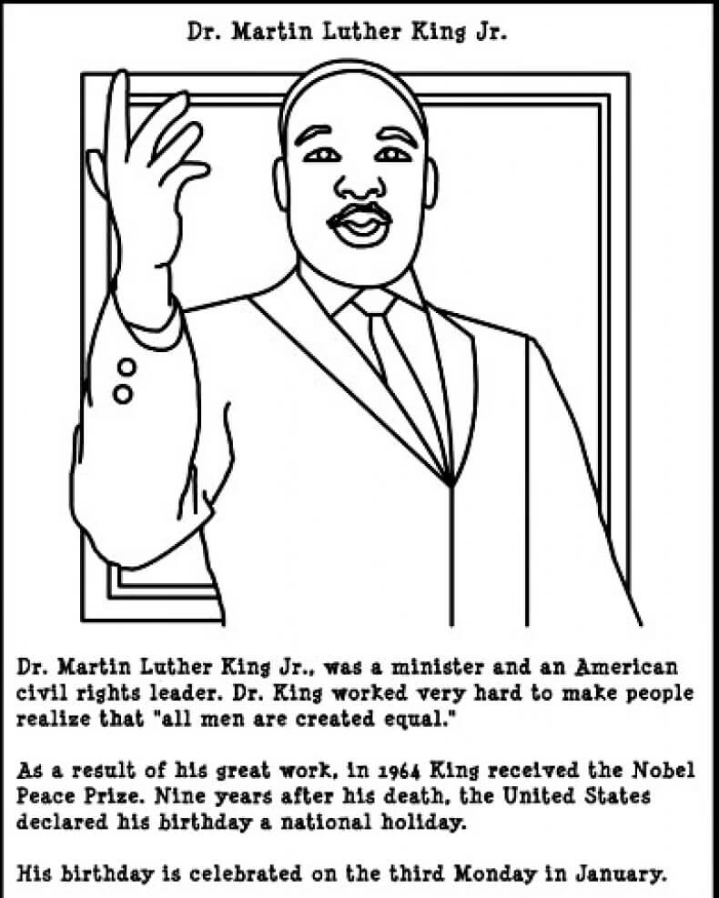 martin luther king jr coloring pages free martin luther king coloring pages free coloring home coloring luther king pages free jr martin
