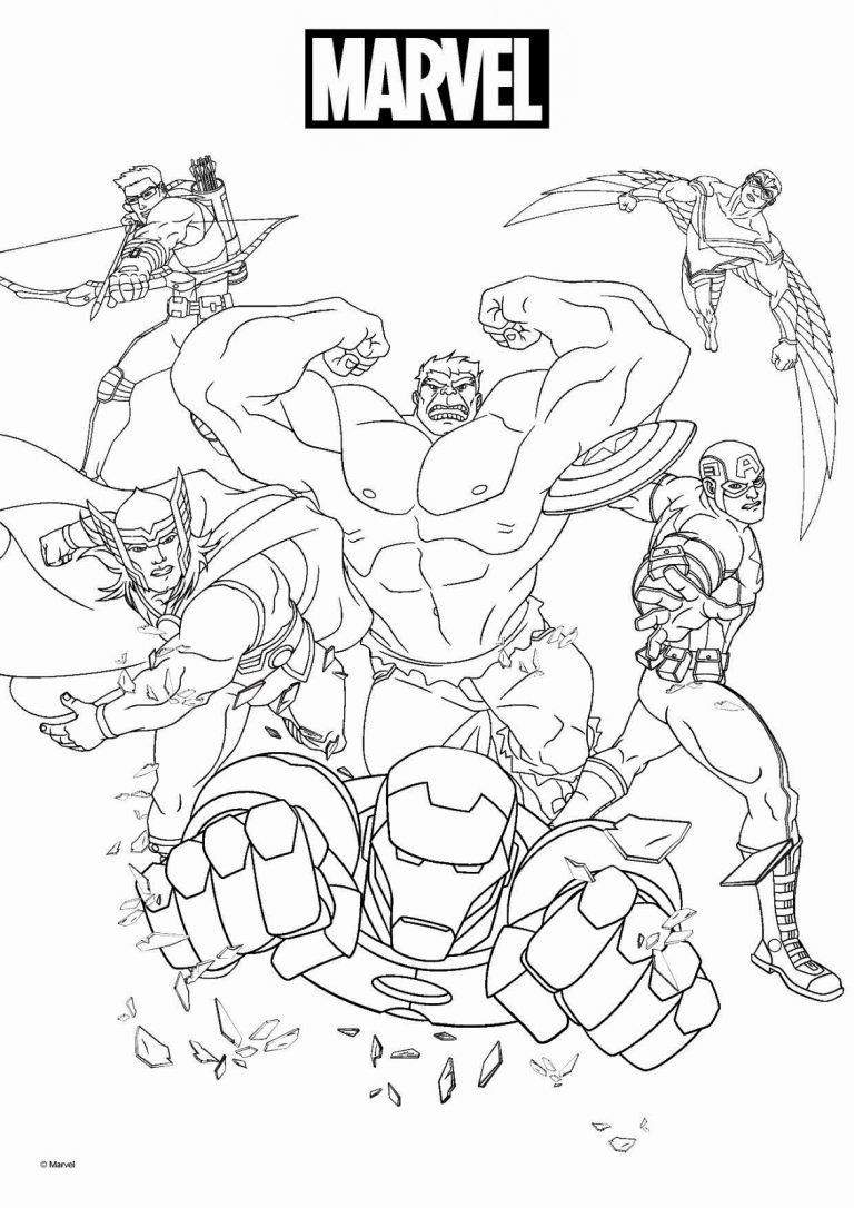 marvel avengers coloring pages 20 free printable marvel coloring pages coloring avengers marvel pages