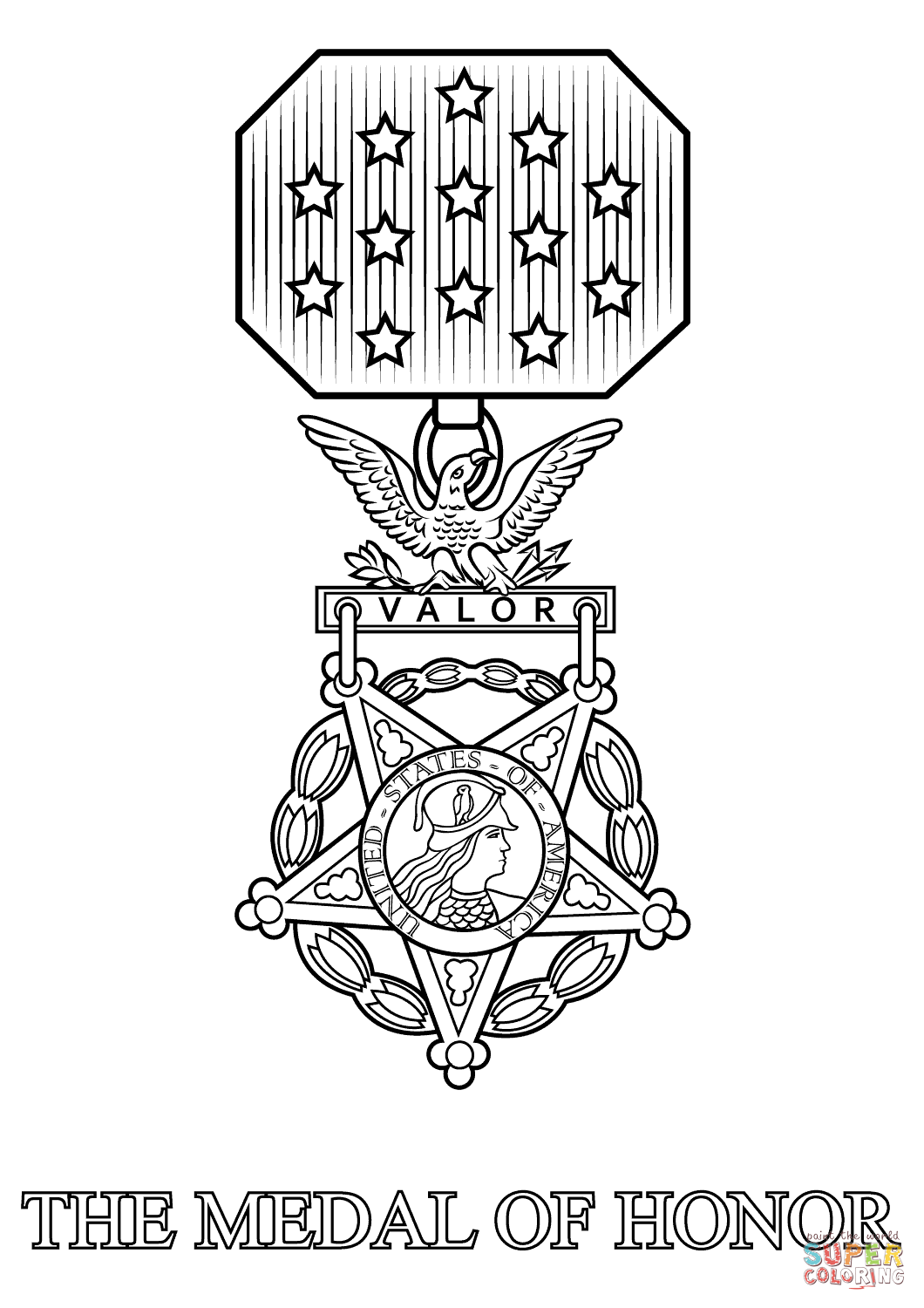medal coloring page medal of honor coloring page free printable coloring pages coloring page medal