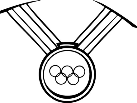 medal coloring page medals drawing at getdrawings free download coloring medal page
