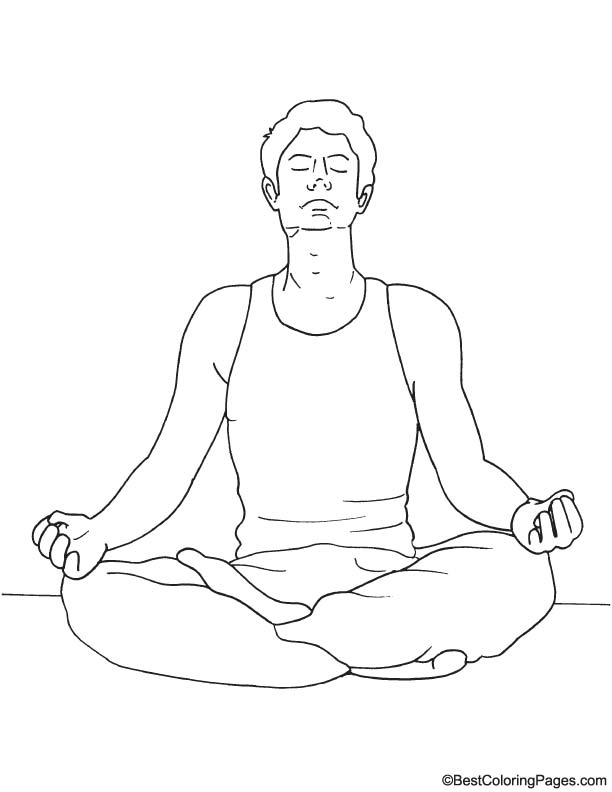meditation coloring pages 39yoga om chakras mindfulness meditation zen 339 sticker by meditation pages coloring
