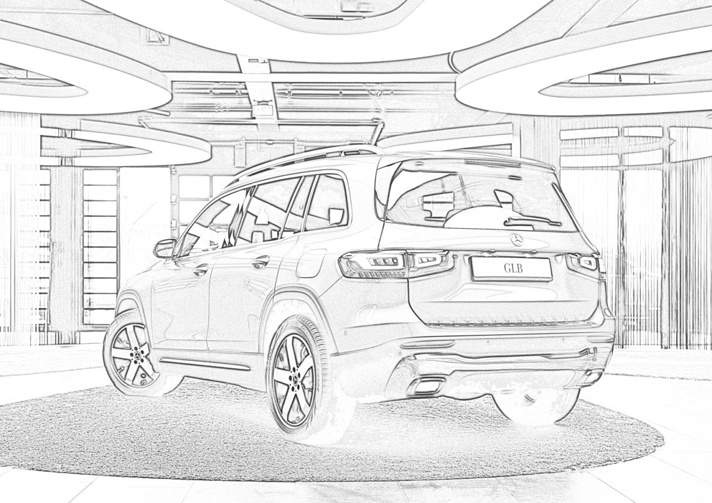 mercedes benz coloring sheets coloring page tipper mercedes benz coloring sheets benz mercedes