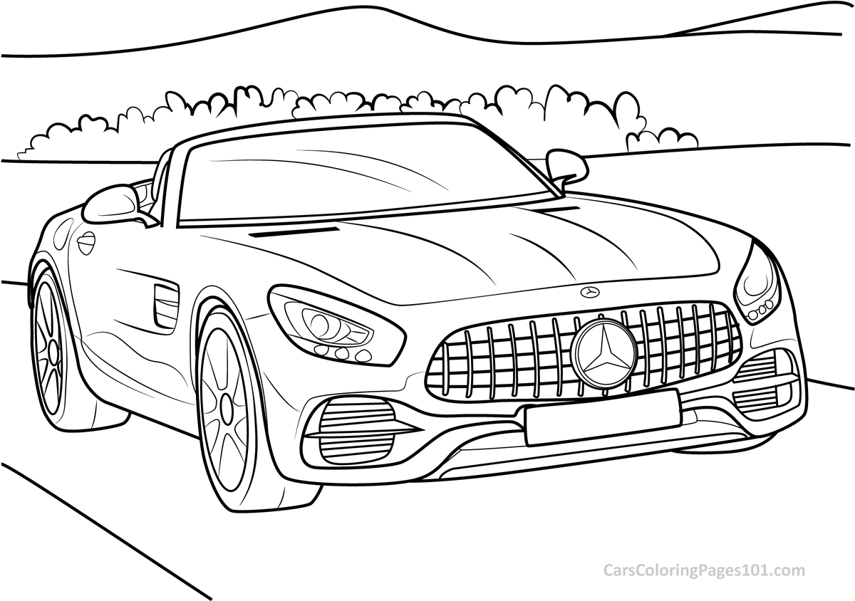mercedes benz coloring sheets mercedes amg coloring book is perfect for staying at home coloring mercedes sheets benz