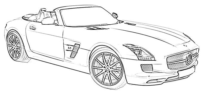 mercedes coloring sheet coloring page tipper mercedes benz sheet mercedes coloring