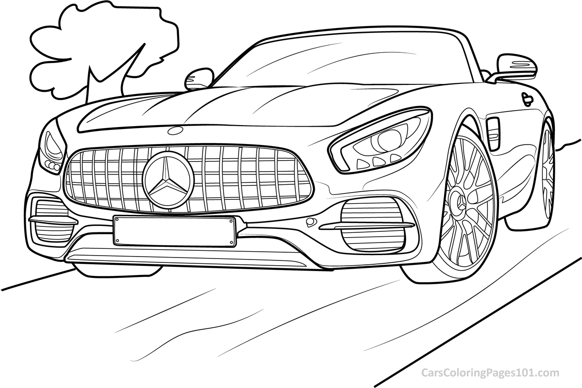 mercedes coloring sheet mercedes benz pages coloring pages sheet mercedes coloring