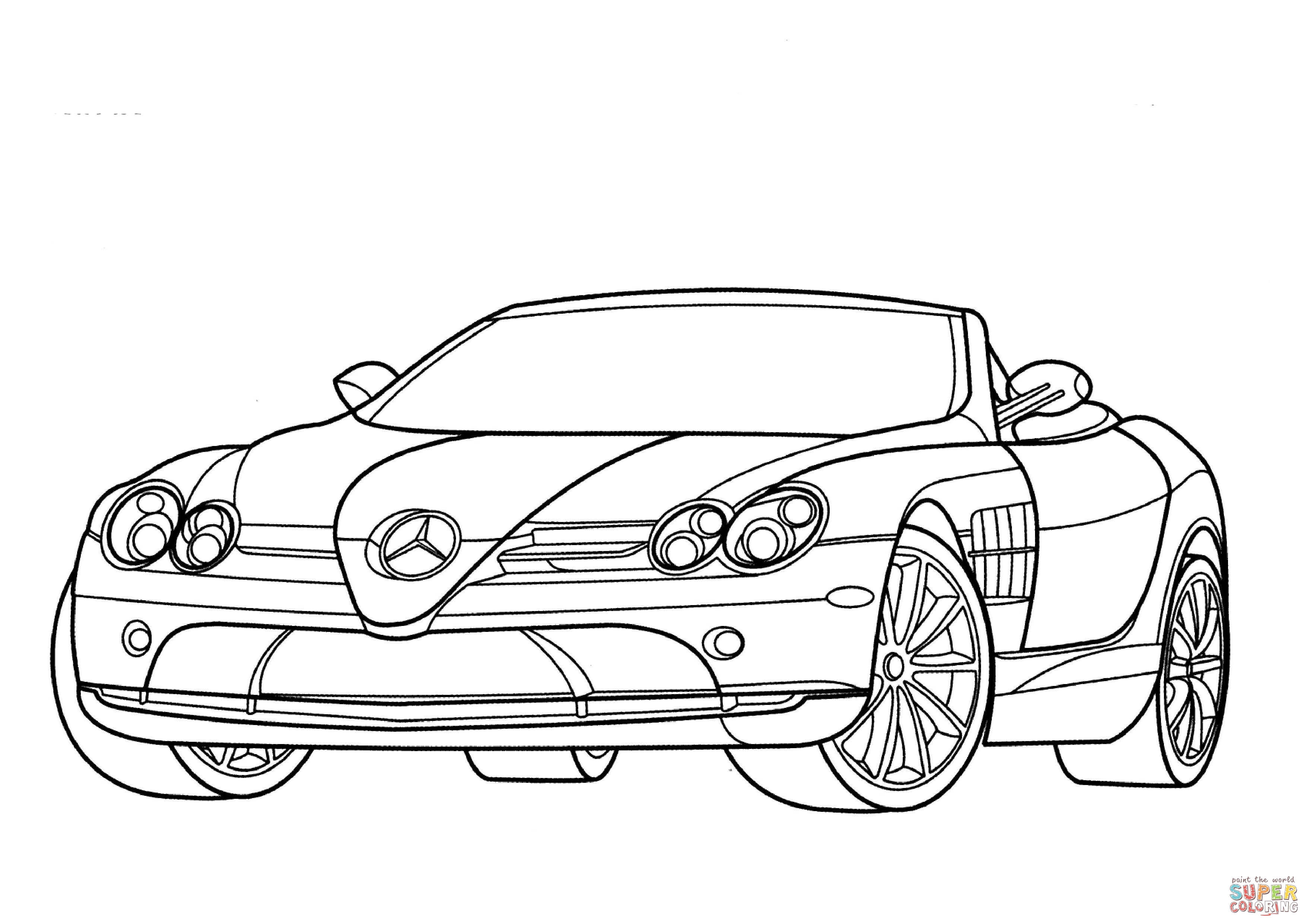 mercedes coloring sheet mercedes benz s class coloring page free printable sketch coloring mercedes sheet