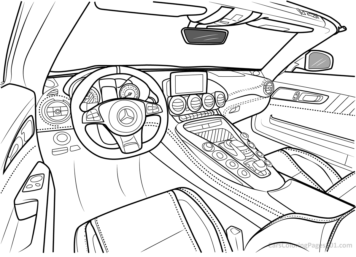 mercedes coloring sheet mercedes coloring pages benz sheet coloring mercedes