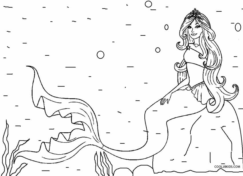 mermaid color mermaid coloring pages to download and print for free mermaid color 1 1